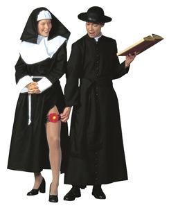 Zakonnica i ksiądz